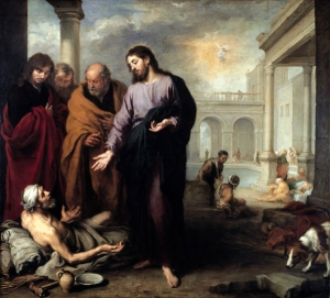 Healing of the Paralytic by Murillo