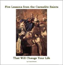 My new e-book on the Carmelite saints.