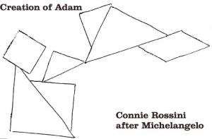 Creation-of-Adam-Tangram